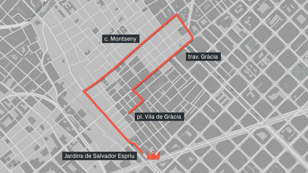 cavalcada de Carteres Reials a Gràcia 2019