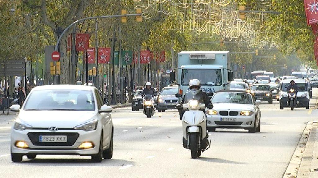 Cotxes a Barcelona