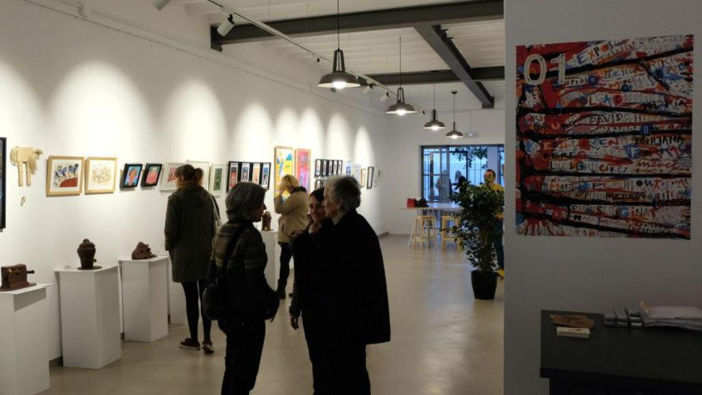 Hipermerc'art a la Galeria Cromo