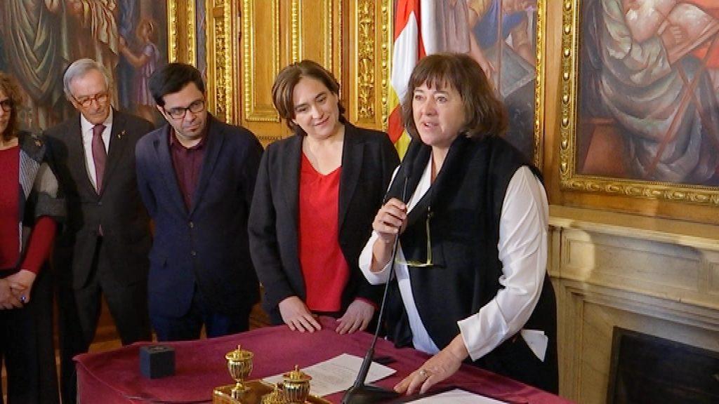 Gemma Sendra pren possessió a l'Ajuntament