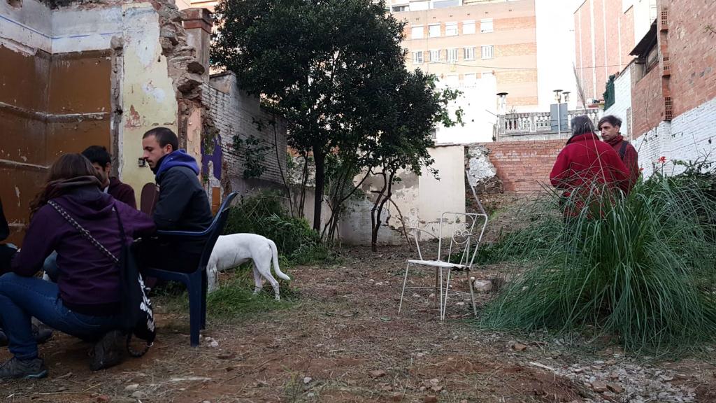 Jardí Sant Andreu ocupat