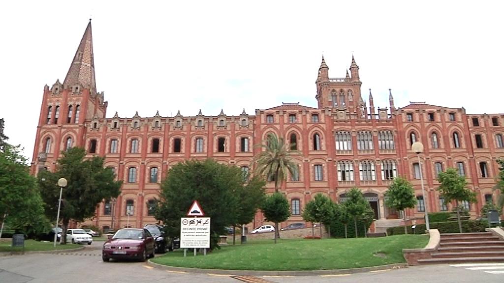 Escola Jesuïtes de Sarrià edifici