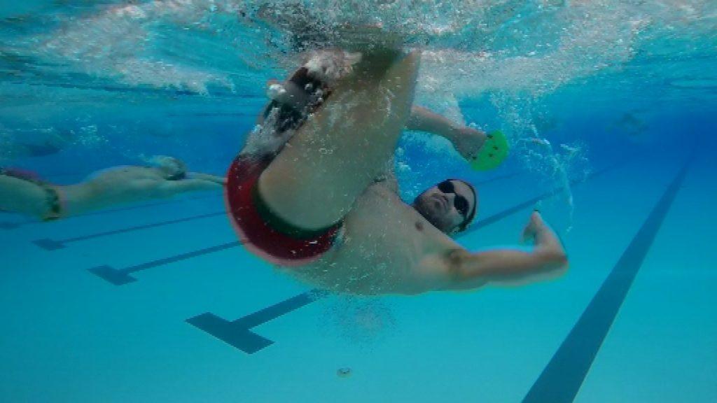 Joan Lluis Pons, nedador Club Natació Sant Andreu
