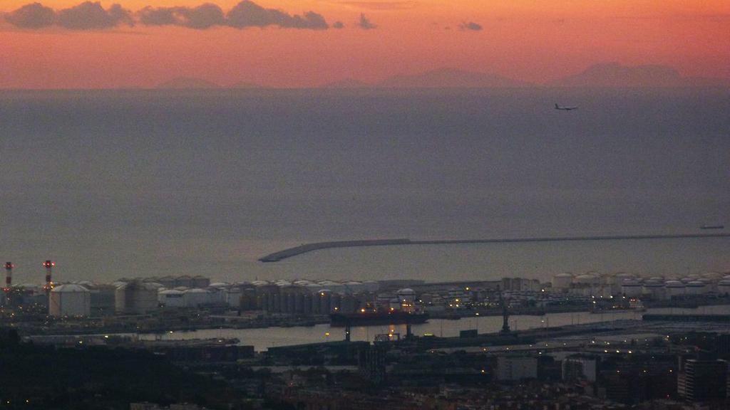 Imatge del contorn de Mallorca des de Barcelona