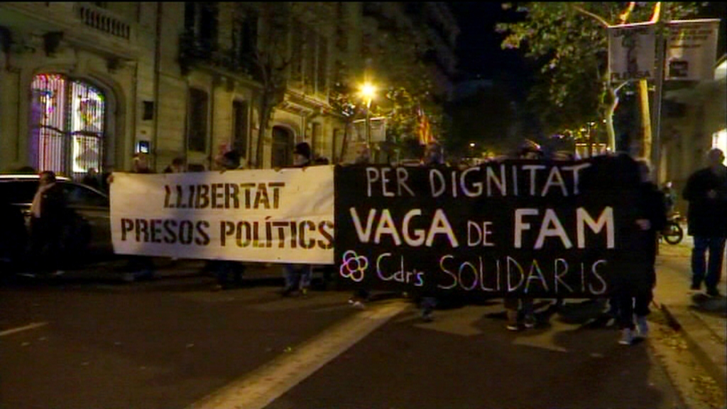 Manifestació CDR Diagonal