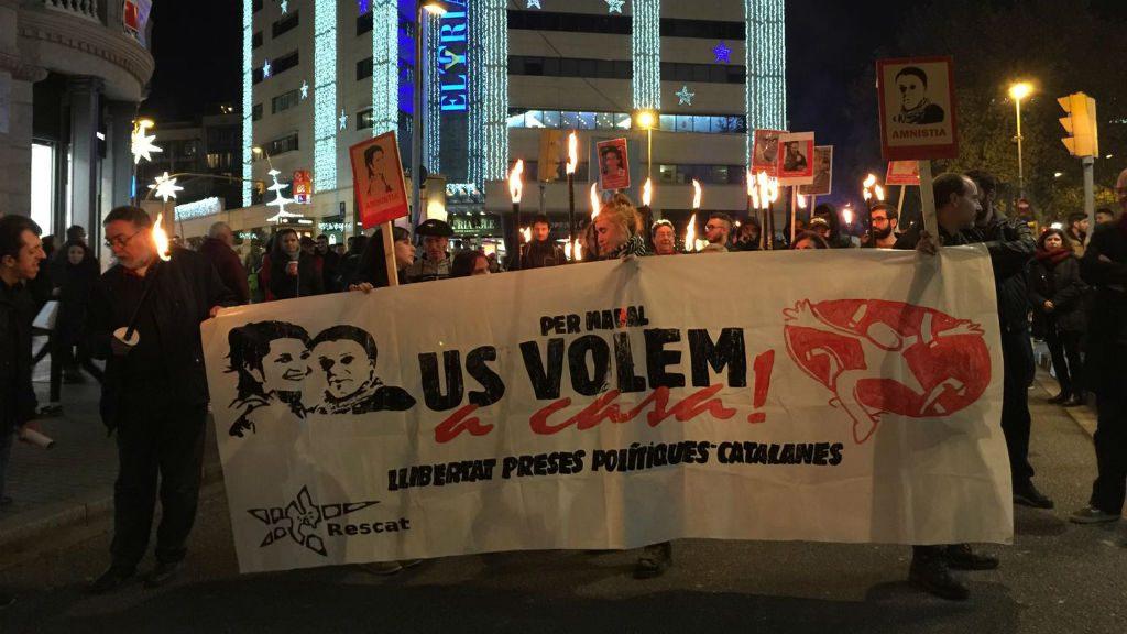 Marxa torxes presos polítics