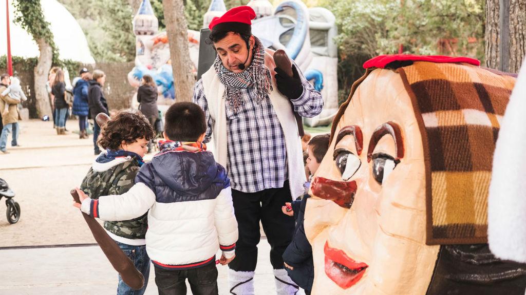 mercat de Nadal al Poble Espanyol