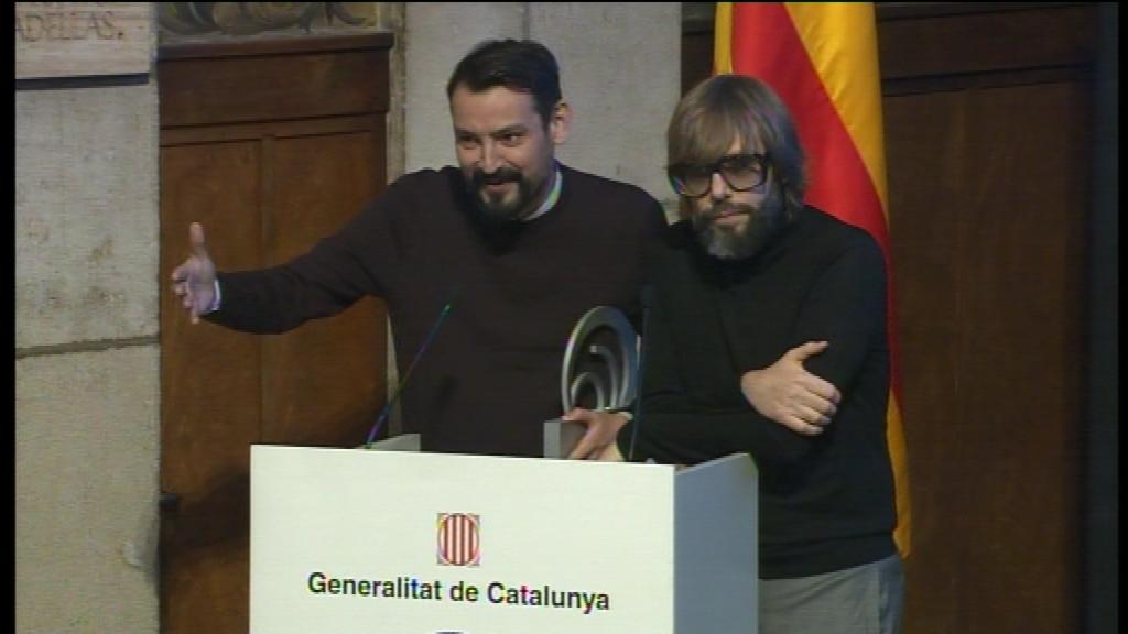 premis nacionals de comunicacio Oscar Andreu i Oscar Dalmau