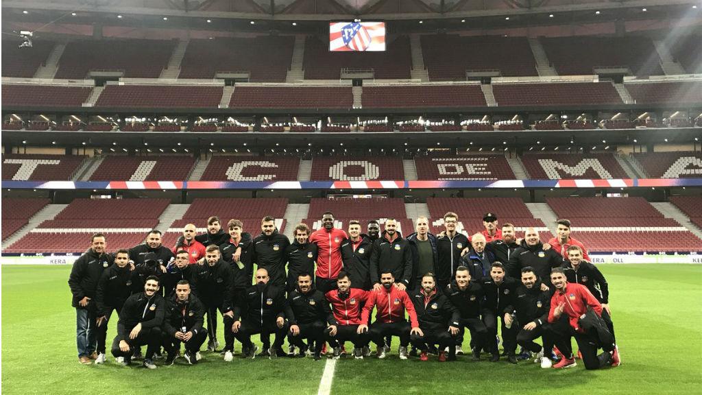 L'Atlètic de Madrid - Sant Andreu de copa