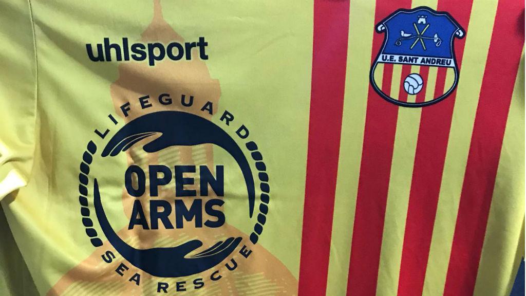 Samarreta UE Sant Andreu Proactiva Open Arms