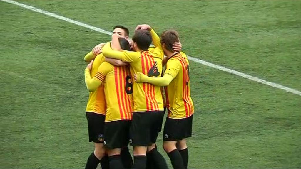 La final de la Copa Catalunya, l'1 de maig