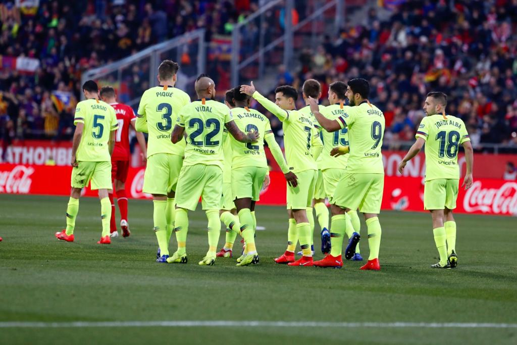 El Barça guanya a Girona