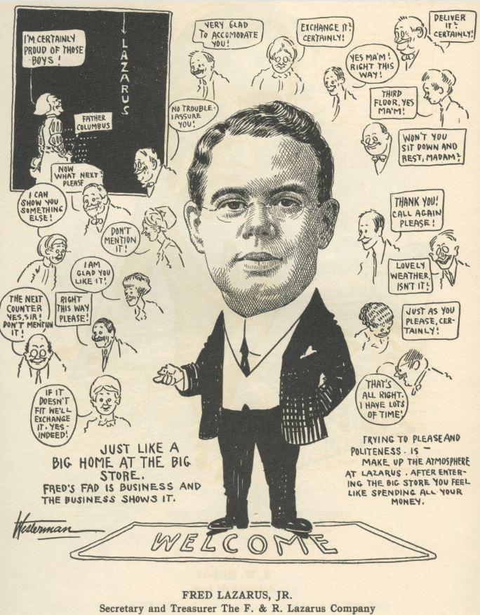 Als anys 30, als EEUU, Fred Lazarus Jr. es va inventar les rebaixes