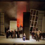 Òpera 'Mathis der Maler' el 1994, l'última abans de l'incendi del Liceu - © A. Bofill