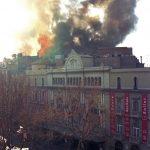 El Liceu, en flames, 31 de gener del 1994 - © A. Bofill