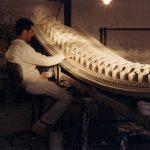 Treballs artesans de reconstrucció del Liceu, 1997 - Manolo Laguillo - Arxiu Fundació Gran Teatre del Liceu