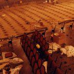 Platea del Liceu en obres, 17 de febrer del 1999 - Manolo Laguillo - Arxiu Fundació Gran Teatre del Liceu