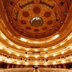 La sala del nou Liceu pràcticament acabada, 5 de maig del 1999 - Manolo Laguillo - Arxiu Fundació Gran Teatre del Liceu