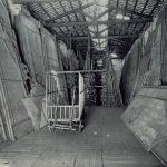 Magatzem d'escenografies al Liceu - Arxiu de la Societat del Gran Teatre del Liceu