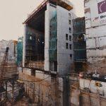Procés de construcció de la caixa escènica - Arxiu de la Societat del Gran Teatre del Liceu