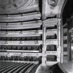 Vista lateral de la sala amb les llotges del prosceni - Arxiu de la Societat del Gran Teatre del Liceu