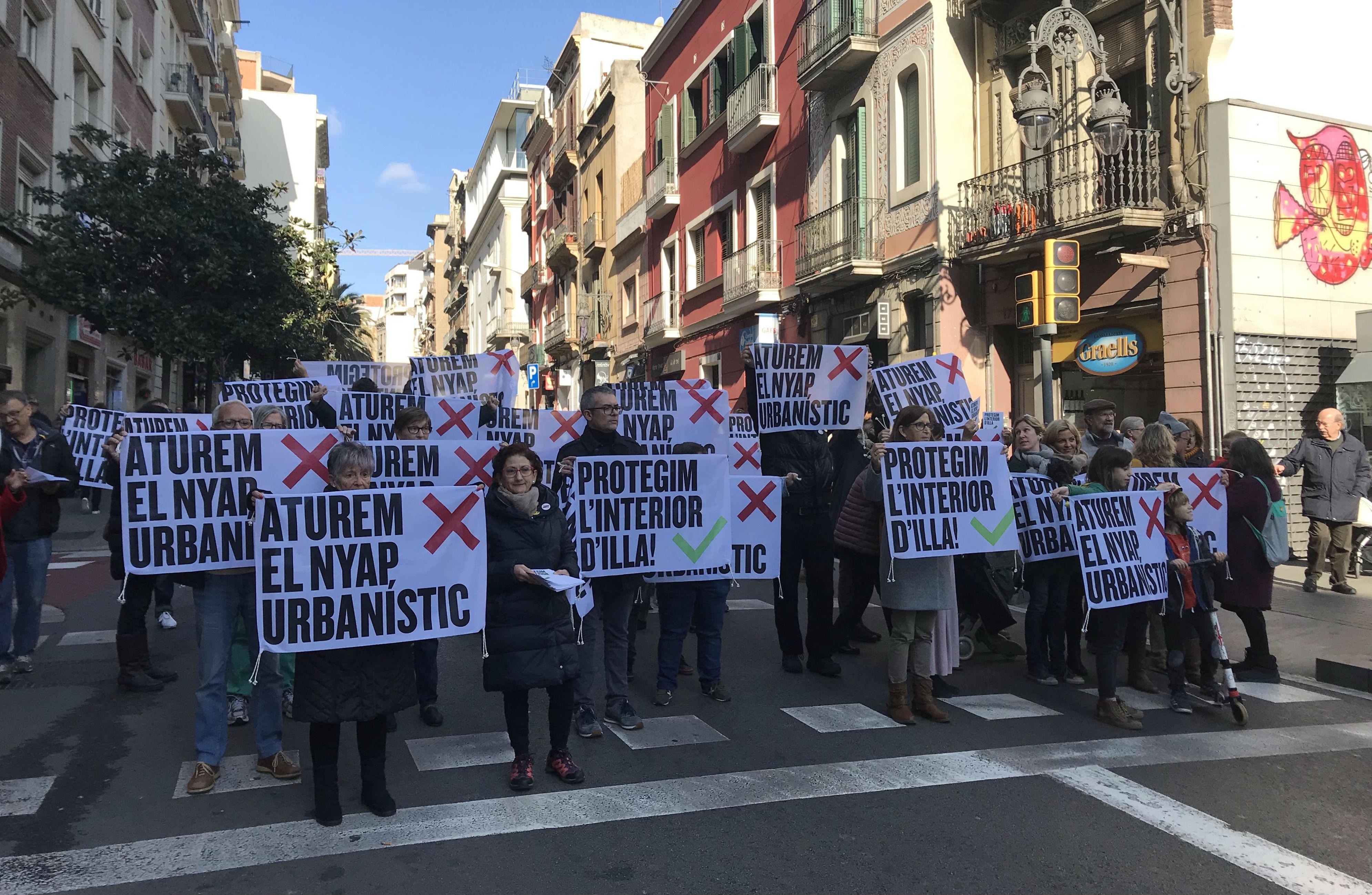 Protesta Gràcia