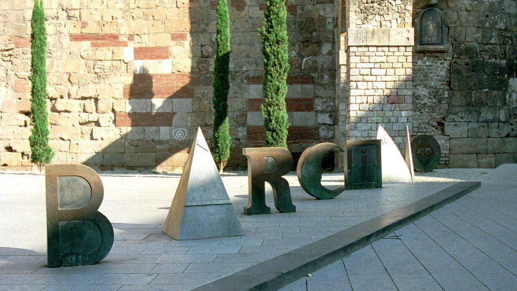 Barcino, obra de Joan Brossa