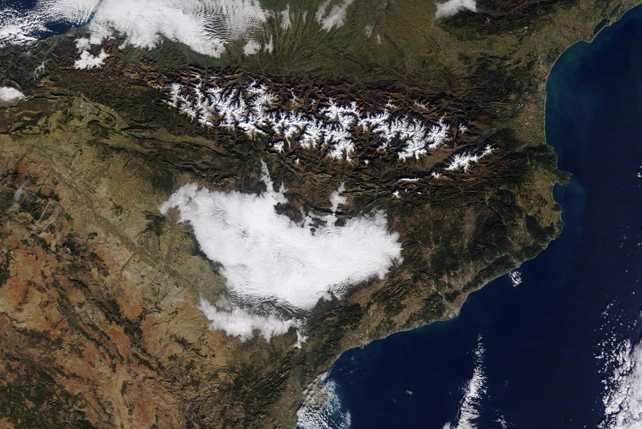 Imatge satèl·lit Aqua