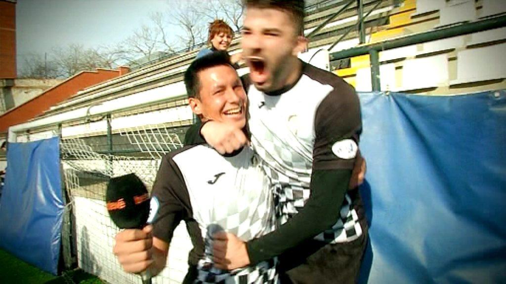 Alegria Genís Blasco i Sergio Castillo, jugadors UA Horta