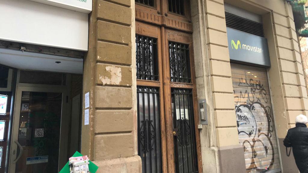 desnonament carrer Comte Borrell 59