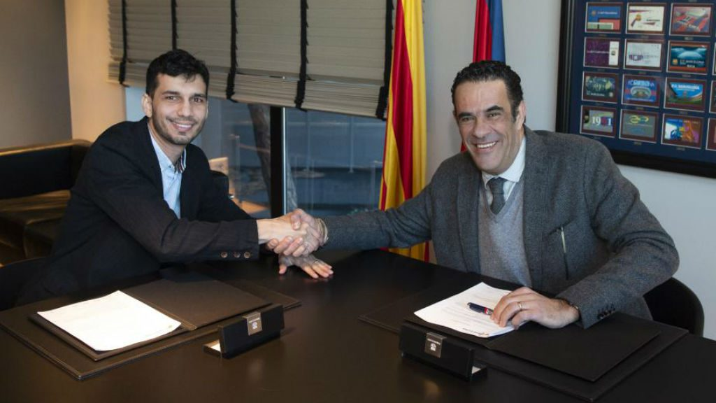 Esquerdinha renova amb el Barça