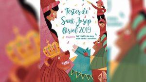 cartell de la Festa Major de Sant Josep Oriol 2019