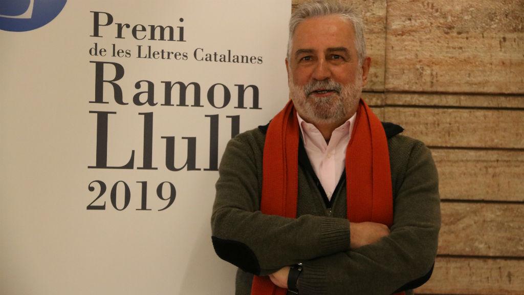 El guanyador del premi Ramon Llull, Rafel Nadal