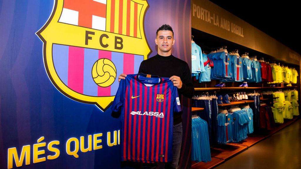 El Barça fitxa Marcenio