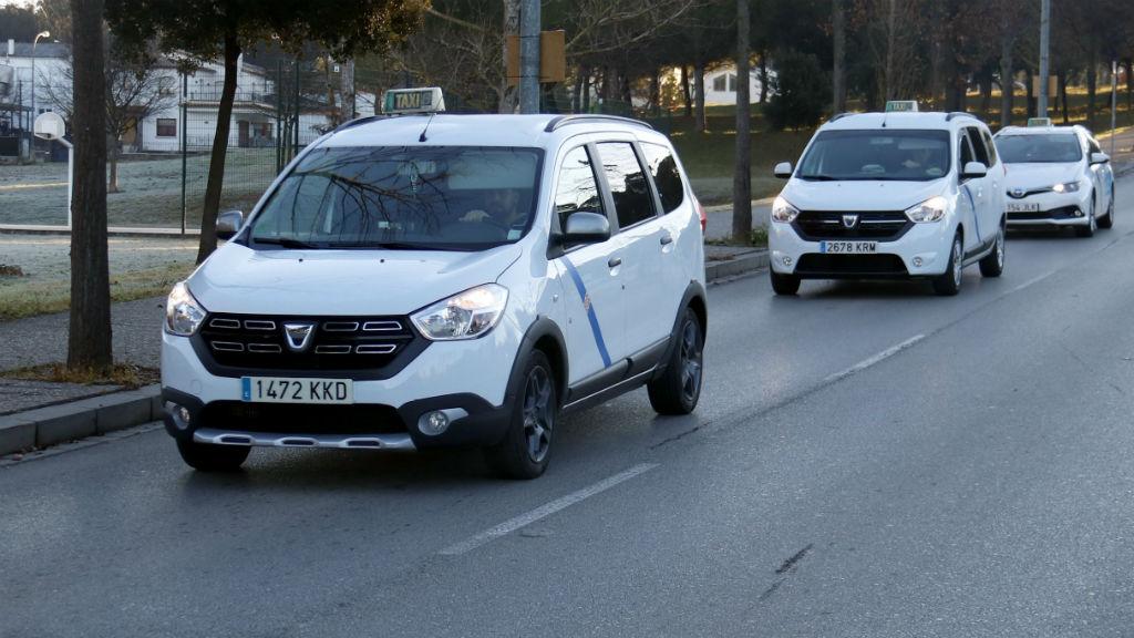 Marxa lenta taxistes Girona