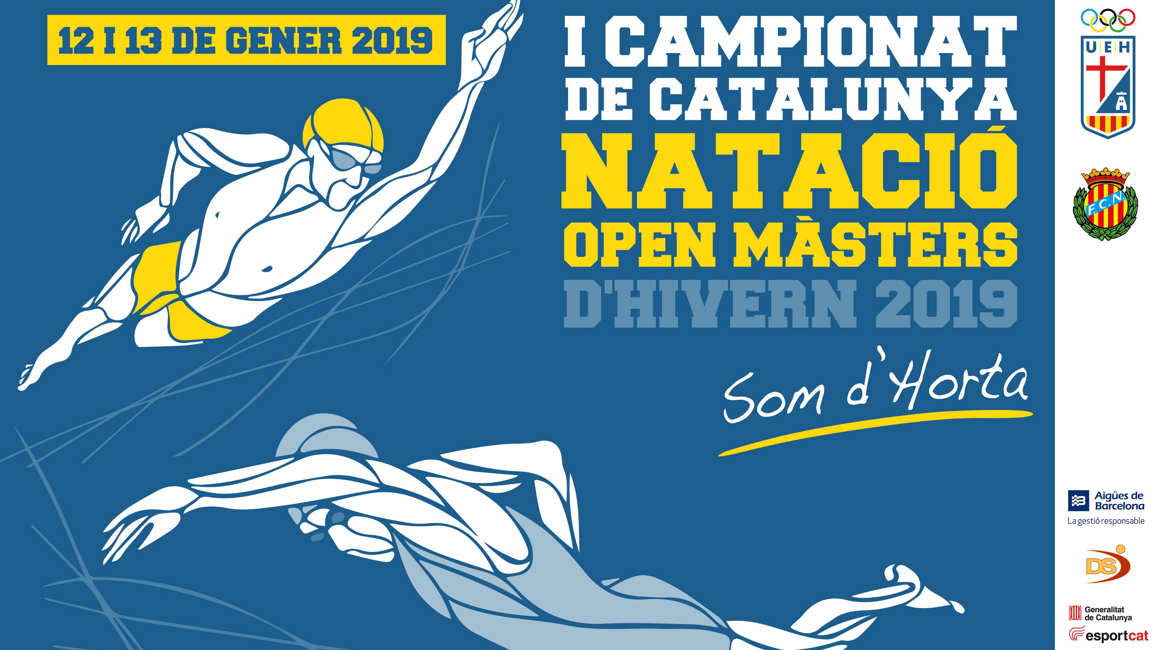 Cartell Campionat Catalunya Màster Natació