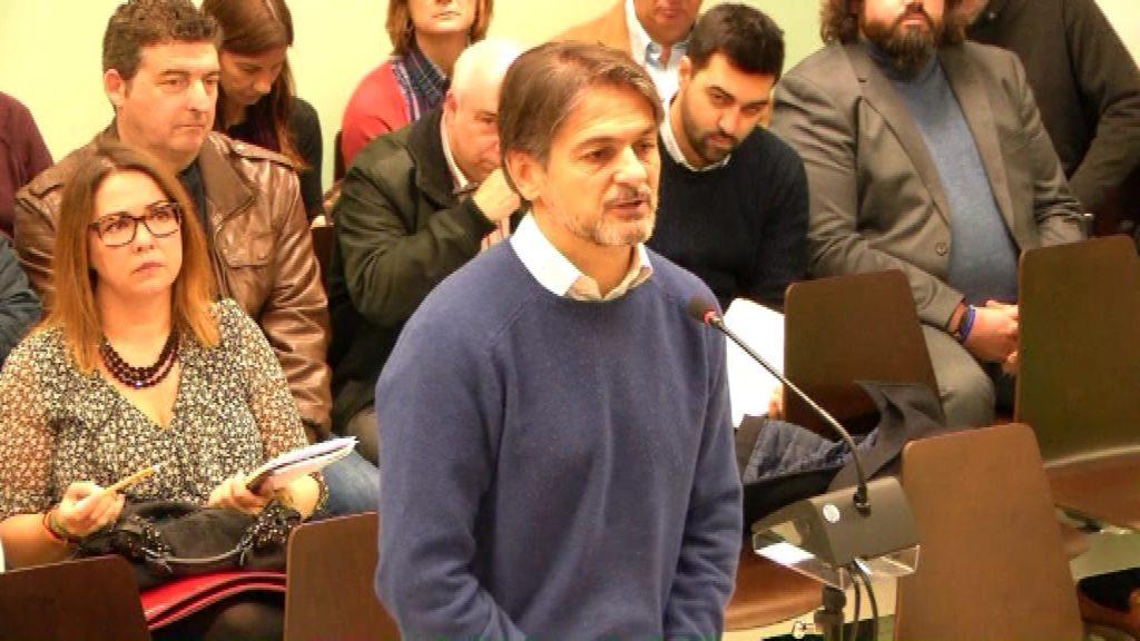 Oriol Pujol Ferrussola declarant