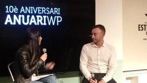 Presentació Anuari waterpolo amb Dani Pajuelo