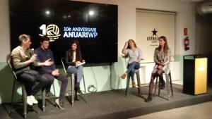 Anuari waterpolo amb Iñaki Aguilar, Bernat Sanahuja, Ruth Ariño i Anni Espar