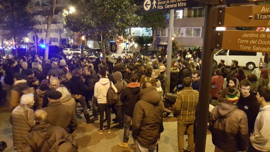 Boicot a un acte de Vox a Barcelona
