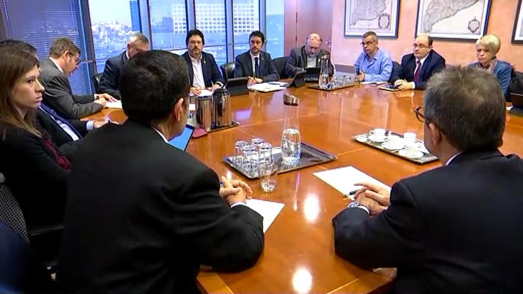 Reunió a Territori del conseller Calvet i representants de l'ATM