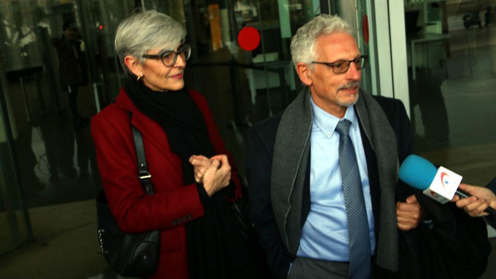 Santi Vidal amb l'advocada