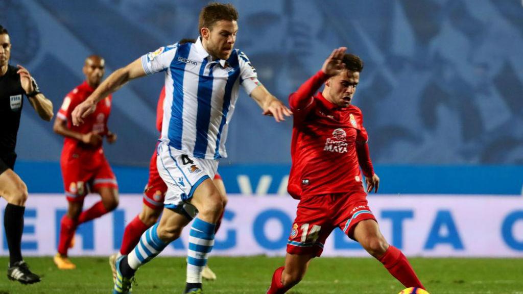 L'Espanyol juga al camp de la Reial Societat