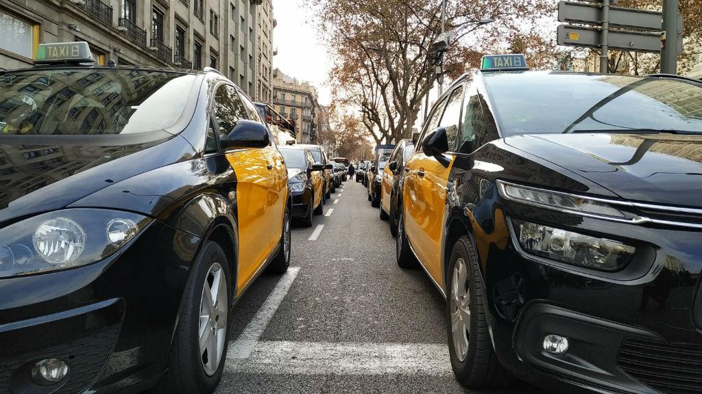 Vaga taxis a Gran Via