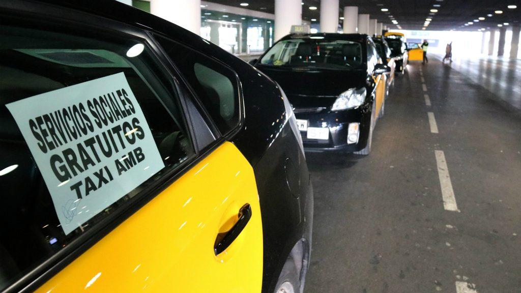taxis parats aeroport Prat per vaga