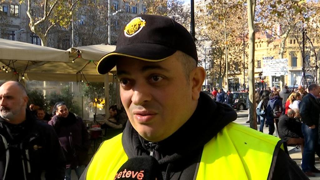 Alberto Álvarez, portaveu d'Elite Taxi