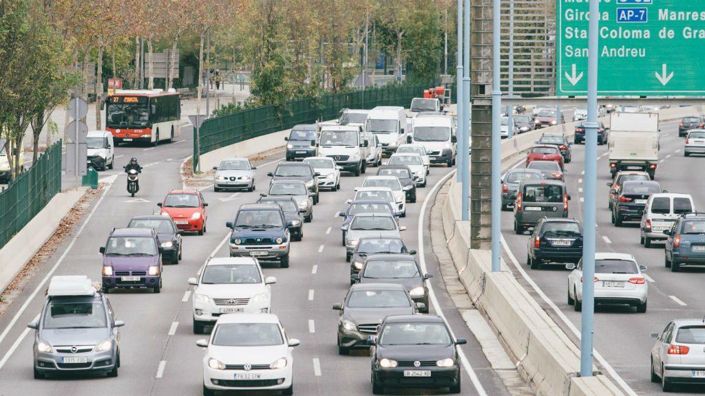 Emissions CO2 trànsit Barcelona