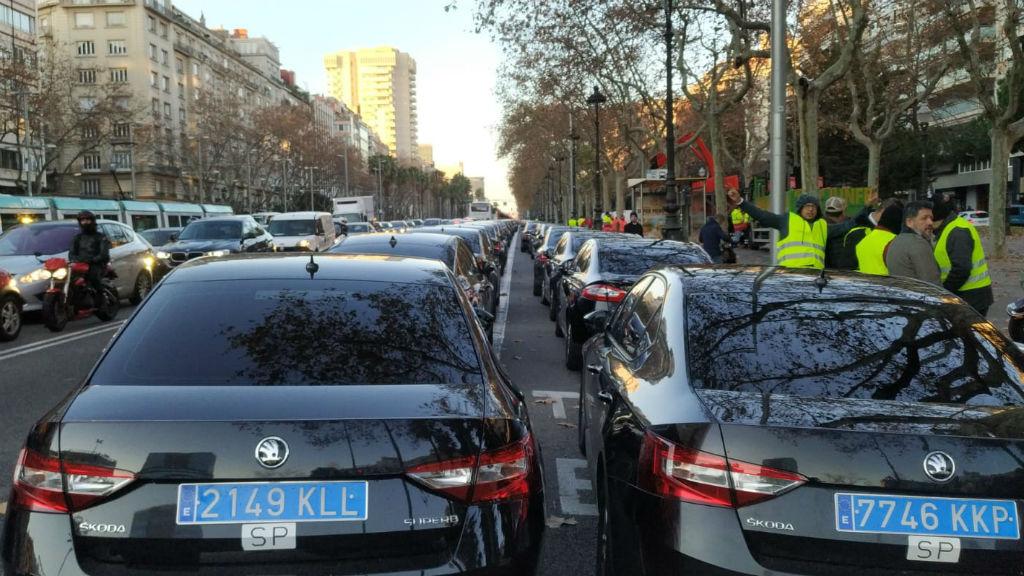 Mobilització de vehicles VTC