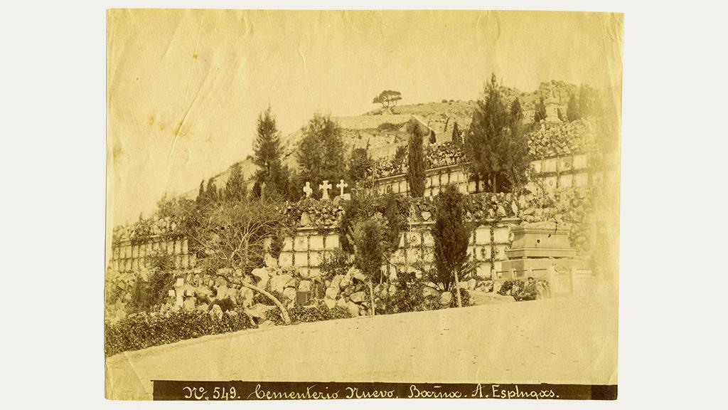 1024x576_0024_1883 1889 Vista general dels ninxols del Cementiri nou del sud-oest Montjuic