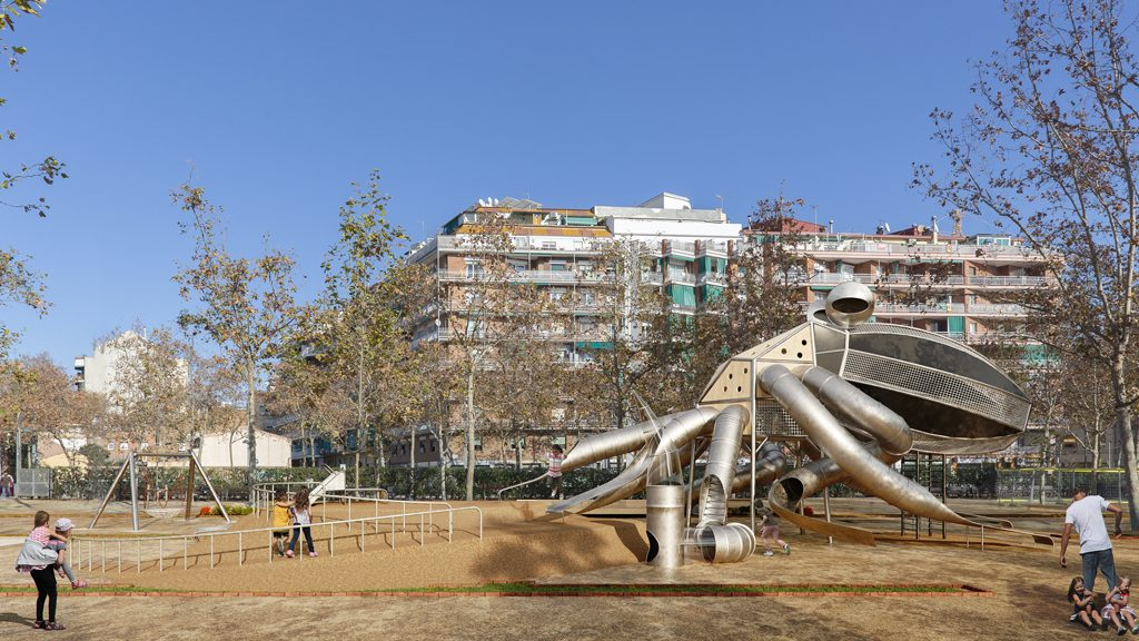 Jocs infantils Parc de la Pegaso